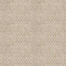 Wheat Geometric Decorator Fabric by Stroheim