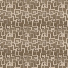 Platinum Geometric Decorator Fabric by Fabricut