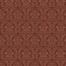 Garnet Jacquard Pattern Decorator Fabric by Trend