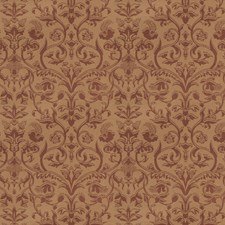 Brick Floral Decorator Fabric by Trend