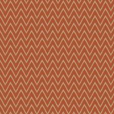 Spice Chevron Decorator Fabric by Trend