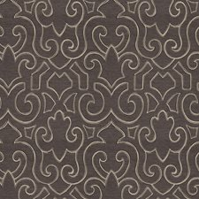 Charcoal Contemporary Decorator Fabric by Trend