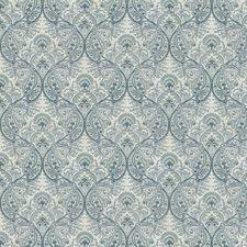 Aquamarine Paisley Decorator Fabric by Fabricut
