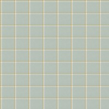 Aqua Check Decorator Fabric by Fabricut