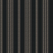 Black Stripes Decorator Fabric by Fabricut
