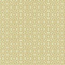 Camel/Cream Decorator Fabric by Schumacher