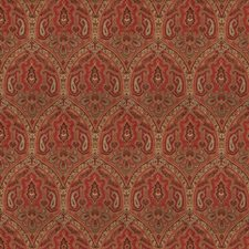 Vintage Red Global Decorator Fabric by Fabricut