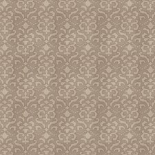 Brushed Metal Damask Decorator Fabric by Stroheim