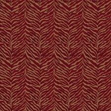 Crimson Animal Decorator Fabric by Fabricut