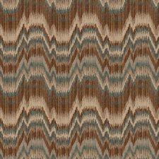 Lake Flamestitch Decorator Fabric by Fabricut