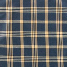 Navy/tan Decorator Fabric by B. Berger
