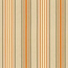 Beige/Mocha/Pumpkin Decorator Fabric by Schumacher
