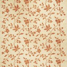 Pumpkin Embroidery Decorator Fabric by Stroheim