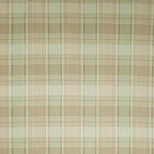 Spearmint Check Decorator Fabric by Stroheim