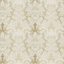 Natural Damask Decorator Fabric by Stroheim