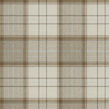 Natural Check Decorator Fabric by Stroheim