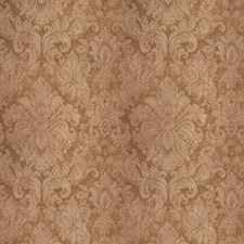 Brown Sugar Damask Decorator Fabric by Vervain