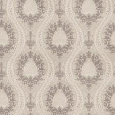Silver Damask Decorator Fabric by Fabricut
