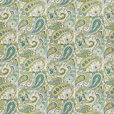 Lagoon Paisley Decorator Fabric by Fabricut
