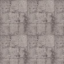 Smoke Check Decorator Fabric by Stroheim