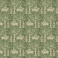 Emerald Animal Decorator Fabric by Vervain