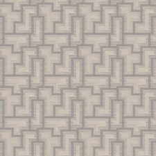 Slate Geometric Decorator Fabric by Fabricut