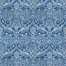 Bluebird Print Pattern Decorator Fabric by Vervain