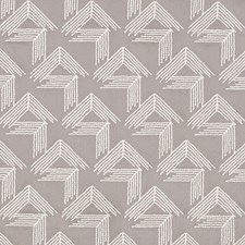 Pale Grey Decorator Fabric by Schumacher