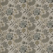 Gilded Floral Decorator Fabric by Fabricut