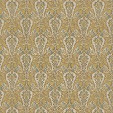 Pear/Aqua Paisley Decorator Fabric by Stroheim