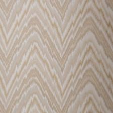 Beige Flamestitch Decorator Fabric by Trend