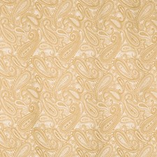 Beige Paisley Decorator Fabric by Trend