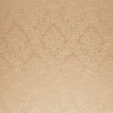 Buff Damask Decorator Fabric by Trend