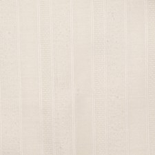 Winter White Stripes Decorator Fabric by Trend