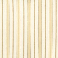 Cream Stripes Decorator Fabric by Trend
