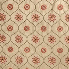 Terra Cotta Embroidery Decorator Fabric by Trend