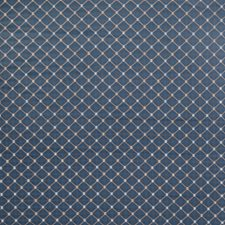 Cobalt Small Scale Woven Decorator Fabric by Trend