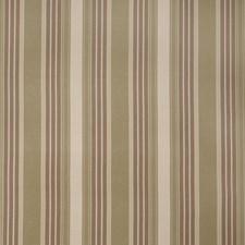 Avocado Stripes Decorator Fabric by Trend