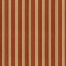 Cinnamon Stripes Decorator Fabric by Trend