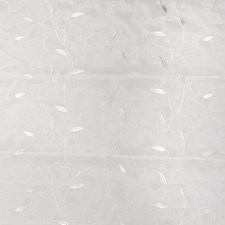 Snow Leaves Decorator Fabric by Trend