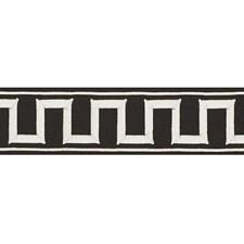 White On Black Trim by Schumacher