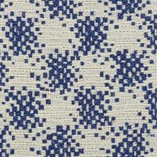 Blue Decorator Fabric by B. Berger