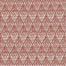 Red Abstract Decorator Fabric by Duralee