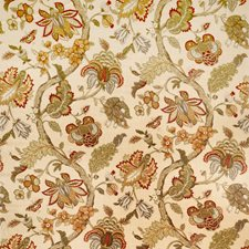 Garden Spice Jacobean Decorator Fabric by Trend