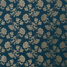 Peacock Shimmer Decorator Fabric by Schumacher