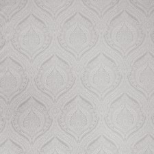Silver Print Pattern Decorator Fabric by Trend