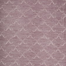 Purple Embroidery Decorator Fabric by Trend