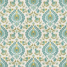 Peacock Global Decorator Fabric by Trend