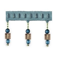 Beaded Blue Topaz Trim by Duralee