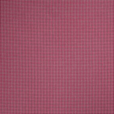 Berry Check Decorator Fabric by Trend